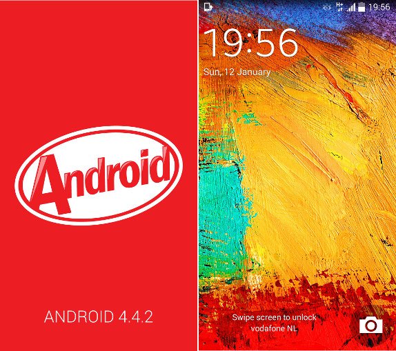 Android 442 kitkat for samsung galaxy note 3 now available how samsung galaxy note 3 android 442 voltagebd Choice Image