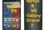 Moto X vs Nexus 4 vs Galaxy Grand 2