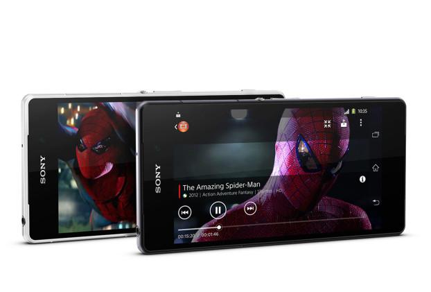 Sony Xperia Z2 display