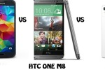 sony xperia z2 vs Samsung galaxy s5 vs HTC one m8