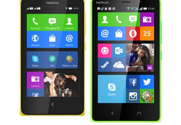 Nokia x2 yellow