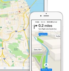 iOS 8 Map