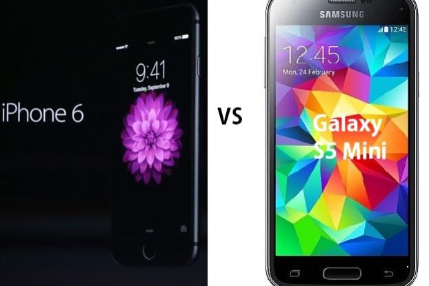 iPhone 6 vs Galaxy S5 Mini