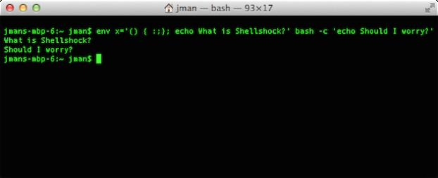 shellshock bash bug