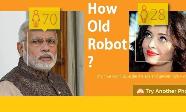 how old robot clg