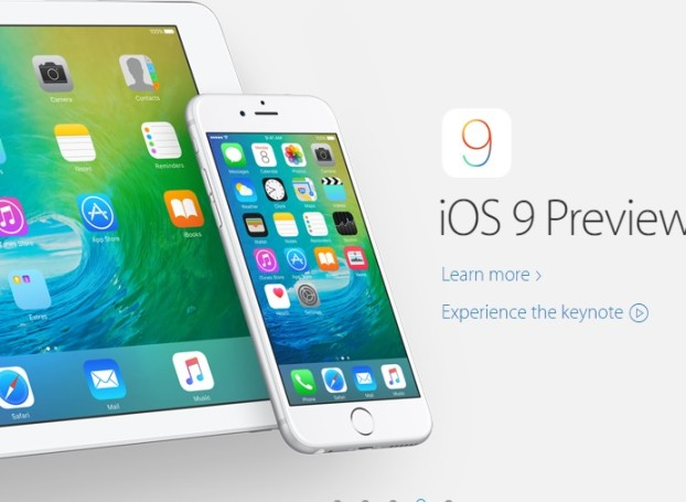 iOS 9 Preview
