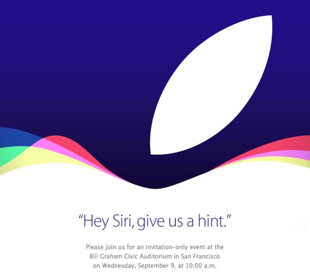 Apple sep 9